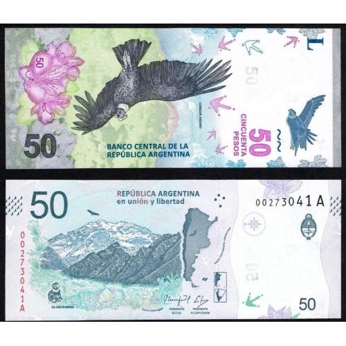 ARGENTINA 50 Pesos 2018