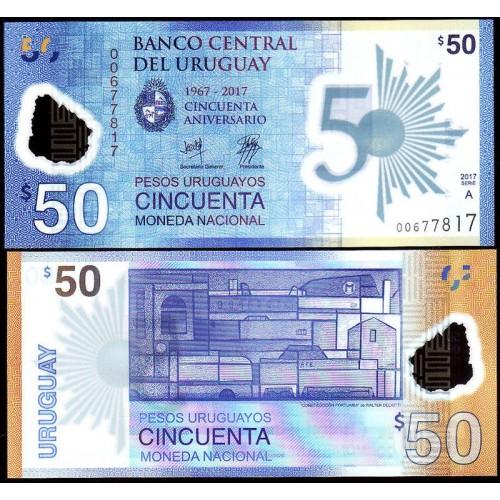 URUGUAY 50 Pesos 2017...
