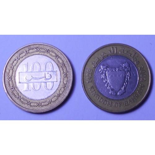 BAHRAIN 100 Fils 2002...