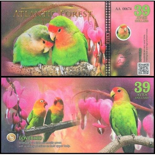 ATLANTIC FOREST 39 Aves...