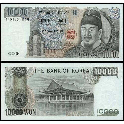 SOUTH KOREA 10.000 Won 1983