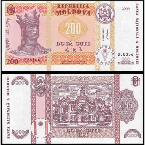 MOLDOVA 200 Lei 2009