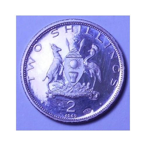 UGANDA 2 Shillings 1969...