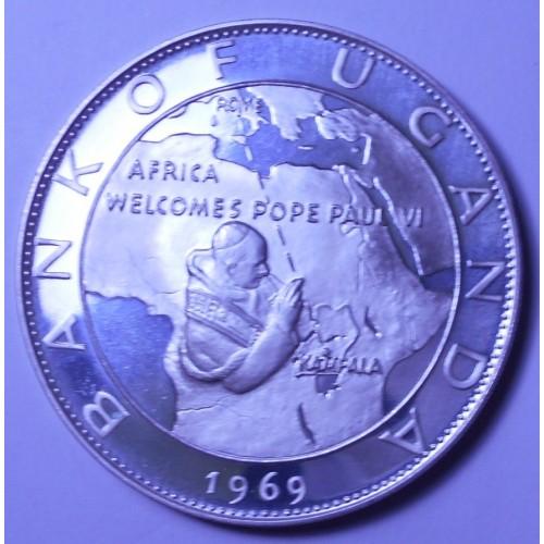 UGANDA 20 Shillings 1969...