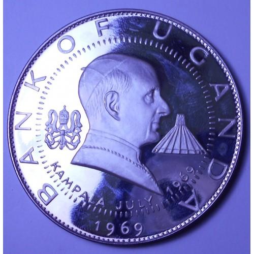 UGANDA 30 Shillings 1969...