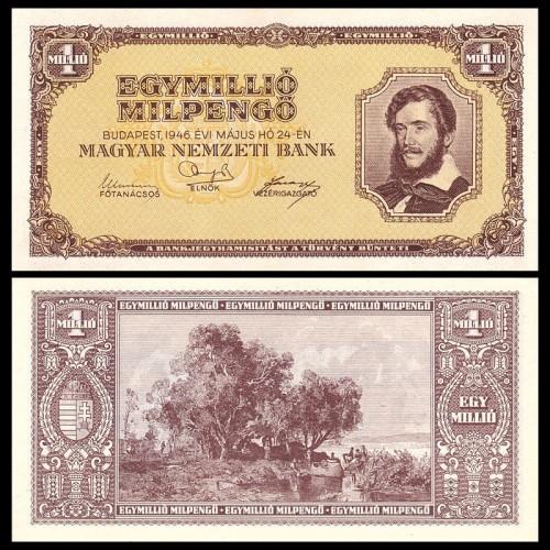 HUNGARY 1.000.000 Milpengo...