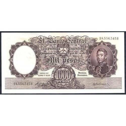 ARGENTINA 1000 Pesos 1954