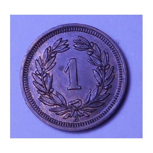 SWITZERLAND 1 Rappen 1931