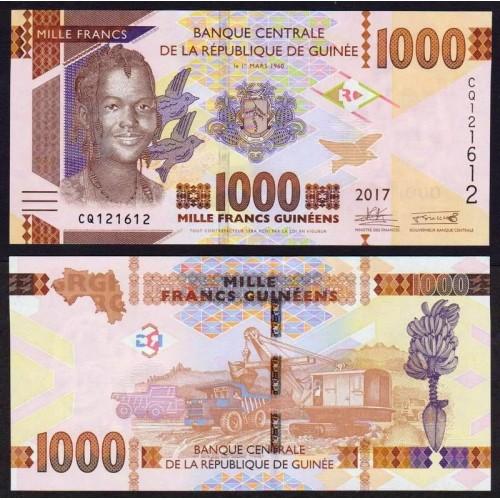 GUINEA 1000 Francs 2017