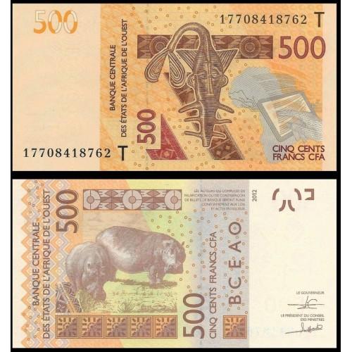 TOGO (W.A.S.) 500 Francs 2017