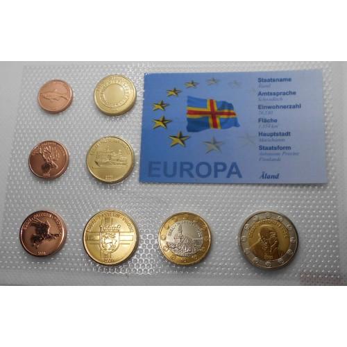 ALAND Set coins 2009 Euro...