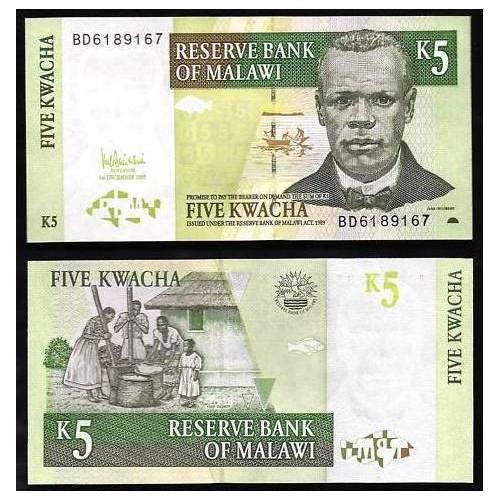 MALAWI 5 Kwacha 2005