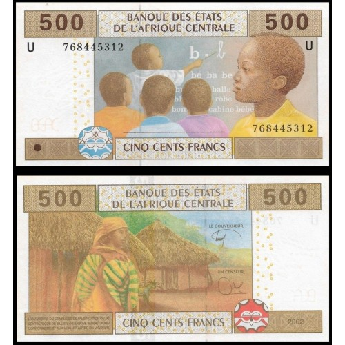CAMEROUN (C.A.S.) 500...