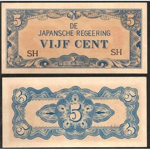 NETHERLANDS INDIES 5 Cents...