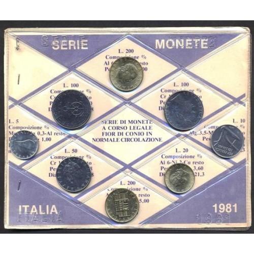 MINI SERIE DIVISIONALE 1981