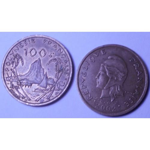 FRENCH POLYNESIA 100 Francs...