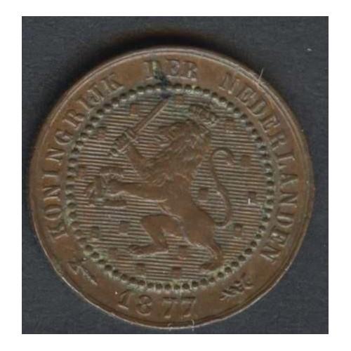 NETHERLANDS 1 Cent 1877 KM...