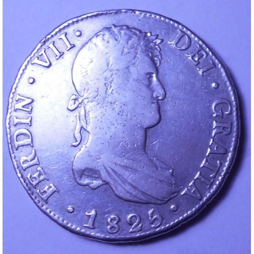 BOLIVIA 8 Reales 1825 JL...