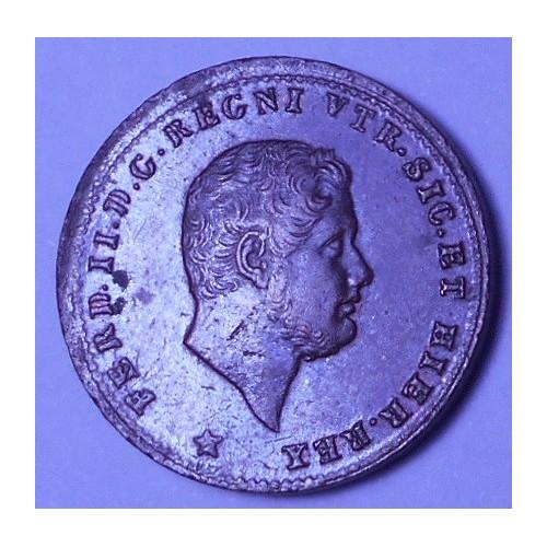 FERDINANDO II 1 TORNESE 1852