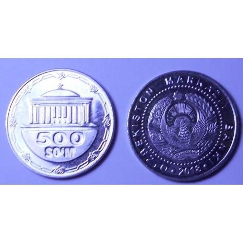 UZBEKISTAN 500 Som 2018