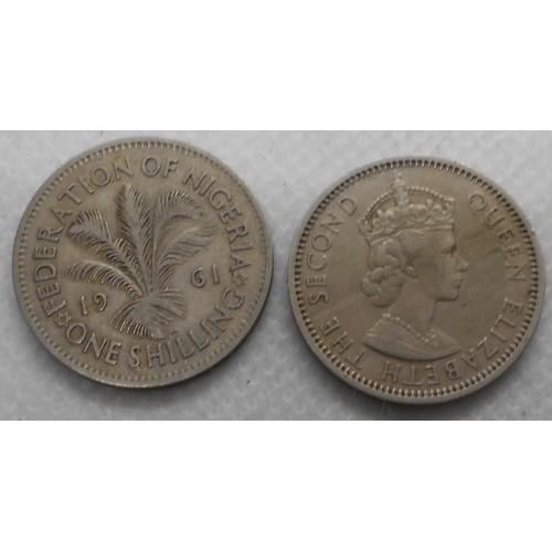 NIGERIA 1 Shilling 1961
