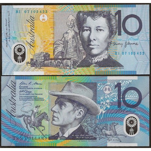 AUSTRALIA 10 Dollars 2007...