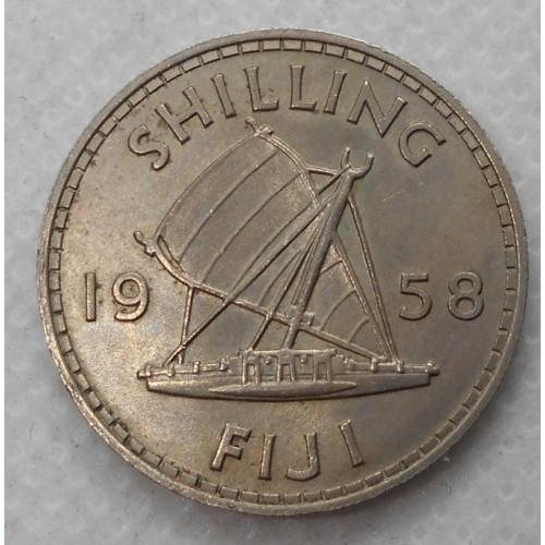 FIJI 1 Shilling 1958