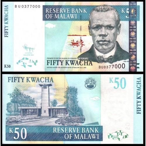 MALAWI 50 Kwacha 2011