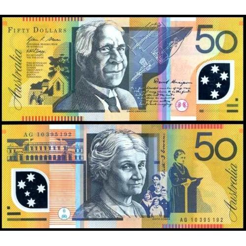 AUSTRALIA 50 Dollars 2010...