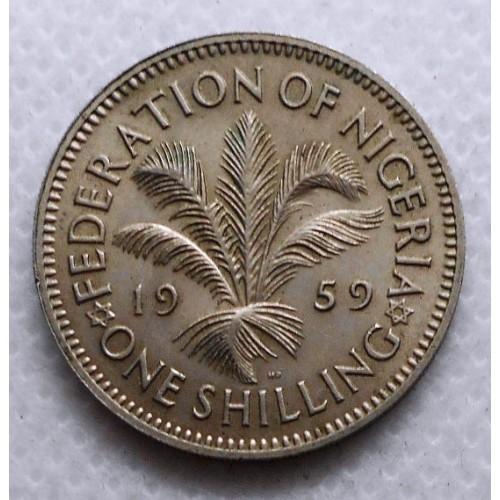 NIGERIA 1 Shilling 1959