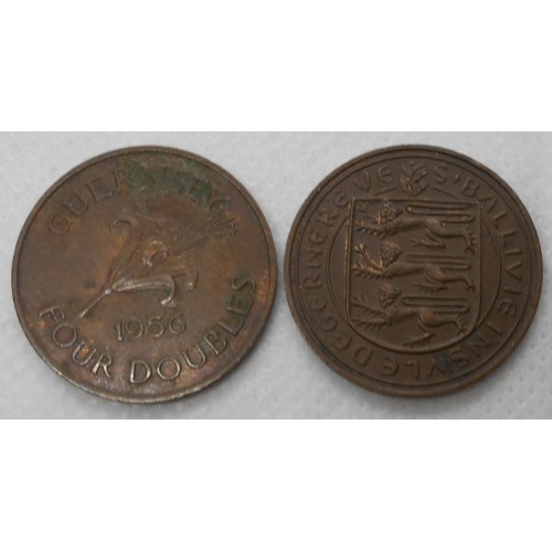 GUERNSEY 4 Doubles 1956