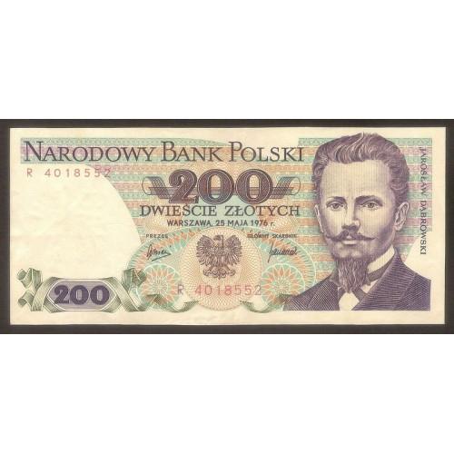 POLAND 200  Zlotych 1976