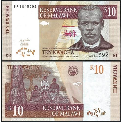 MALAWI 10 Kwacha 2004