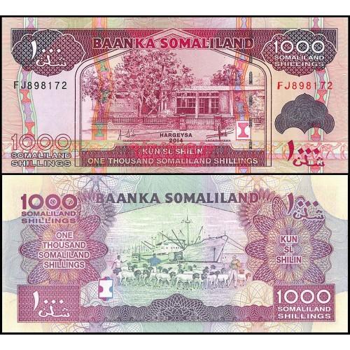 SOMALILAND 1000 Shillings 2014