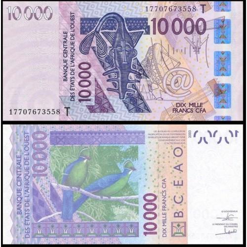 TOGO (W.A.S.) 10.000 Francs...
