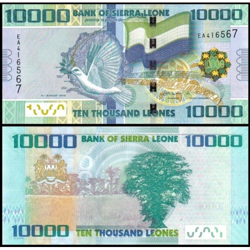 SIERRA LEONE 10.000 Leones...