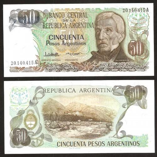 ARGENTINA 50 Pesos...