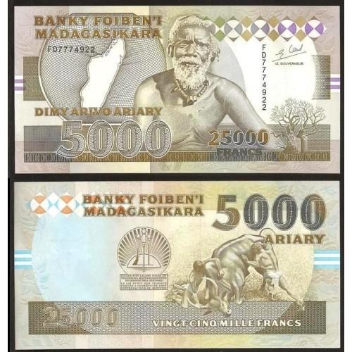 MADAGASCAR 25.000 Francs -...