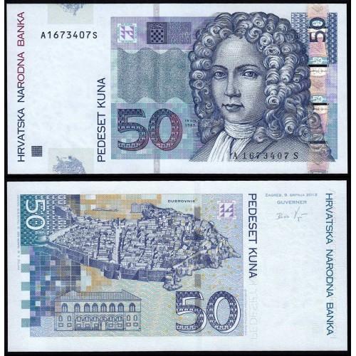 CROATIA 50 Kuna 2012