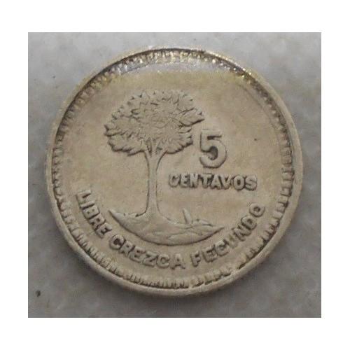 GUATEMALA 5 Centavos 1949 AG