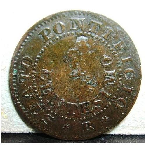 PIO IX 1 Centesimo 1867