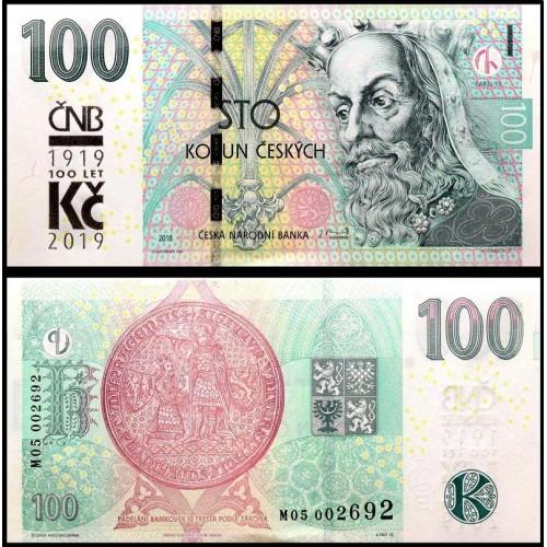 CZECH REPUBLIC 100 Korun...