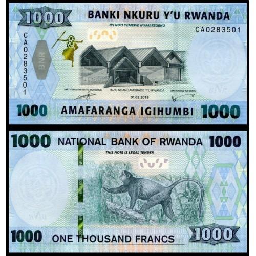 RWANDA 1000 Francs 2019