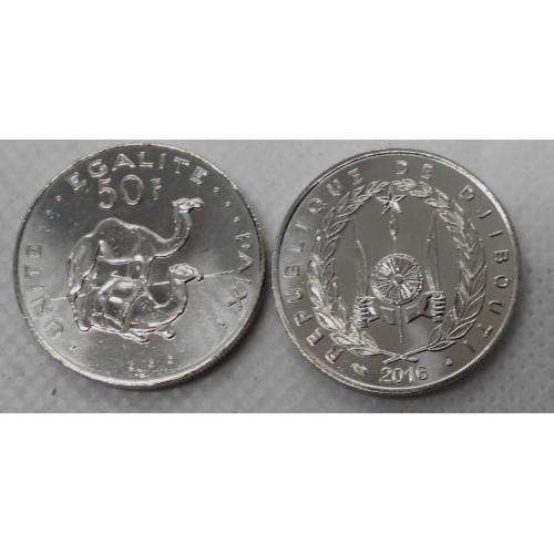 DJIBOUTI 50 Francs 2016