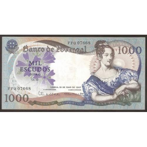 PORTUGAL 1000 Escudos 1967
