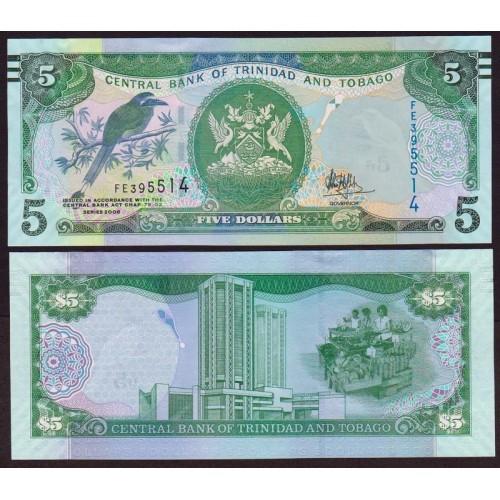 TRINIDAD & TOBAGO 5 Dollars...