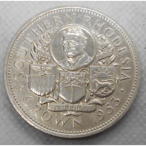 SOUTHERN RHODESIA 1 Crown...