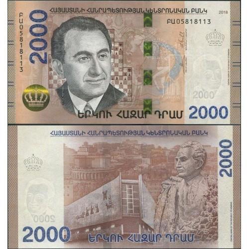 ARMENIA 2000 Dram 2018