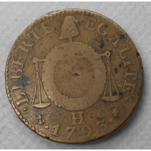 FRANCE 1 Sol 1793 H