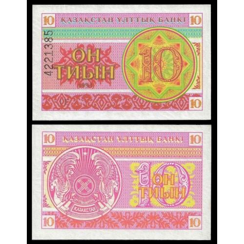 KAZAKHSTAN 10 Tyin 1993